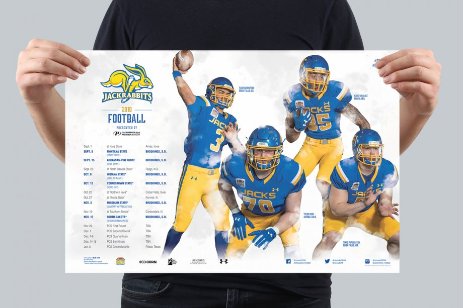 Football Athletic Poster