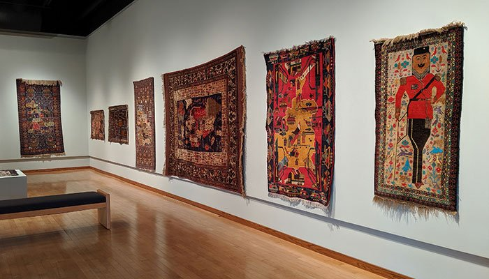 """Afghan War Rugs"" opens at South Dakota Art Museum (Aug. 23 - Nov. 24, 2019)"