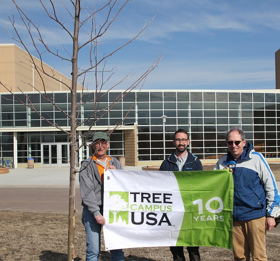 South Dakota State University's annual Arbor Day event was held Wednesday.