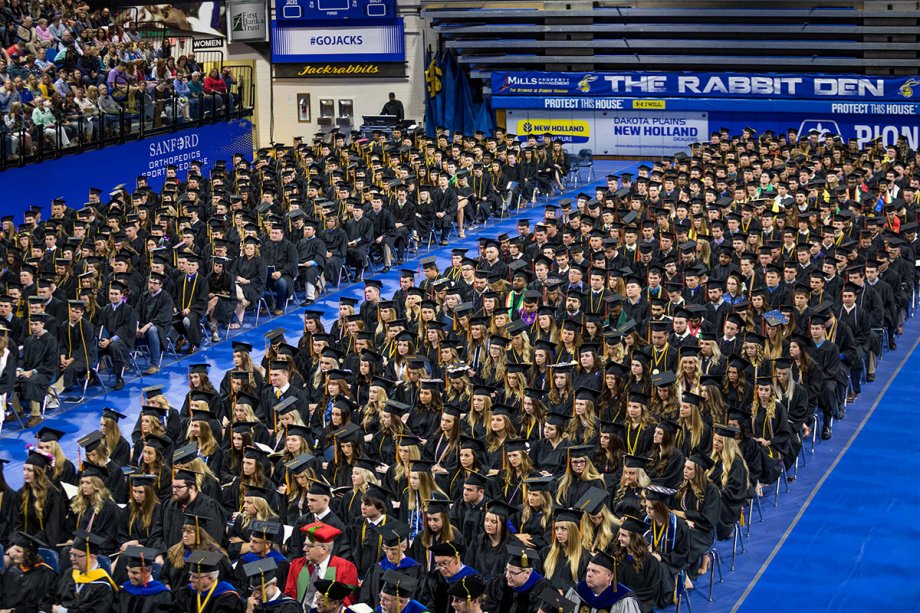 South Dakota State University commencement