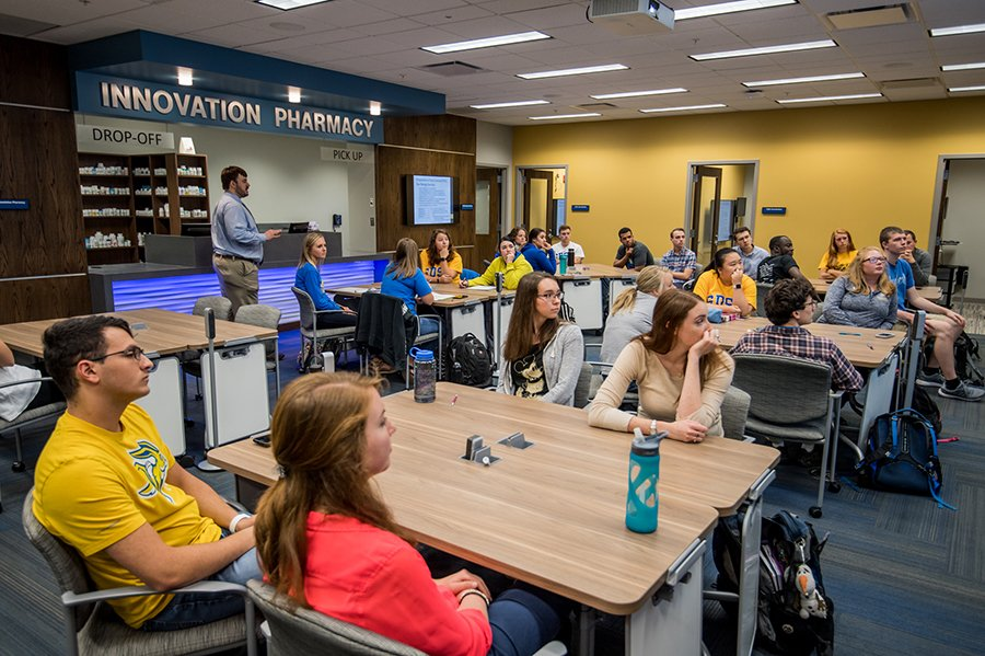 The South Dakota State University College of Pharmacy and Allied Health Professions continues to lead the nation in various categories. The college's residency match rate for pharmacy graduates was 82.2 percent, bettering the national match rate of 64.4 percent.