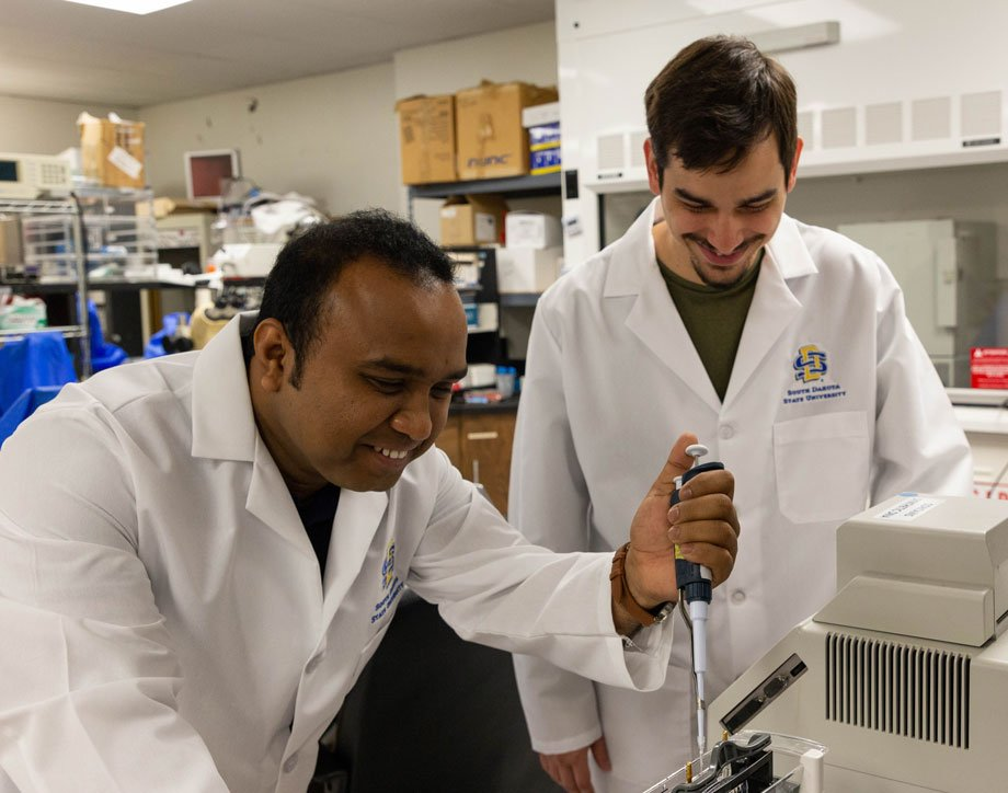 M. Jahir Raihan and Brian Kobylkevich  separate proteins