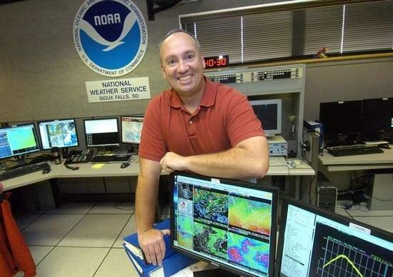 Mike Gillispie at the National Weather Service in Sioux Falls