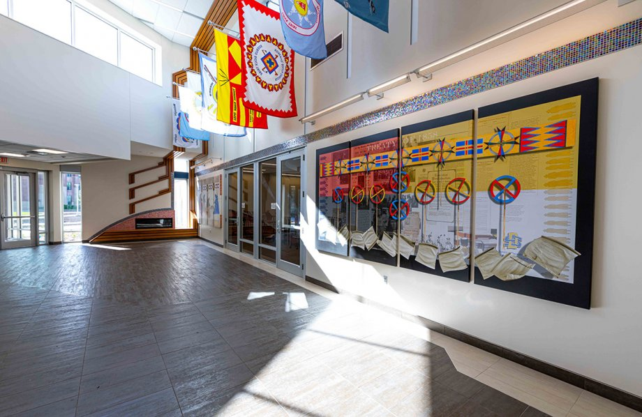American Indian Student Center lobby