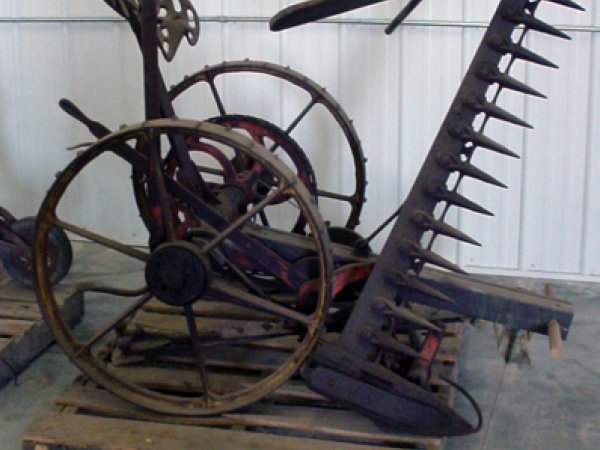 Jones, Jr. One Horse Mower 1910