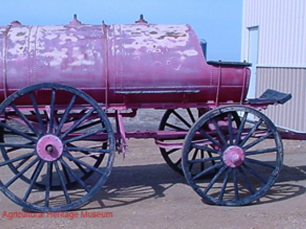 Horse Drawn Fuel Wagon circa 1900's