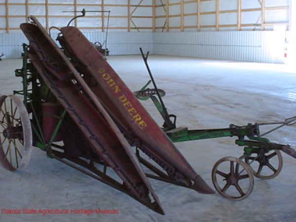 John Deere Horse Drawn Corn Binder 1920's