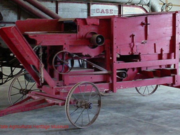 Keystone Hand Fed Threshing Machine circa 1910's