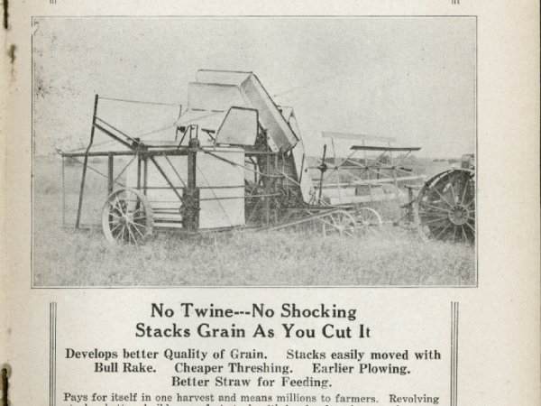 New Way Harvester circa 1930's