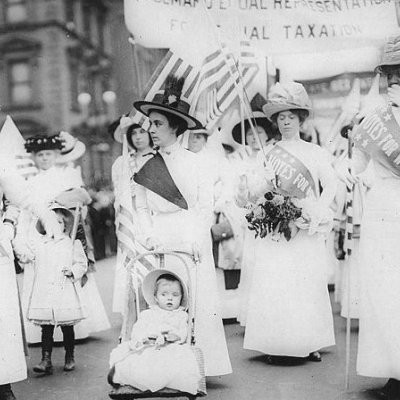 Feminist Suffrage Parade in New York City 1912