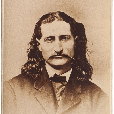 Portrait of Wild Bill Hickok