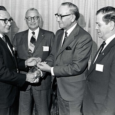 Indian Council Fire Achievement Award Ceremony in 1971