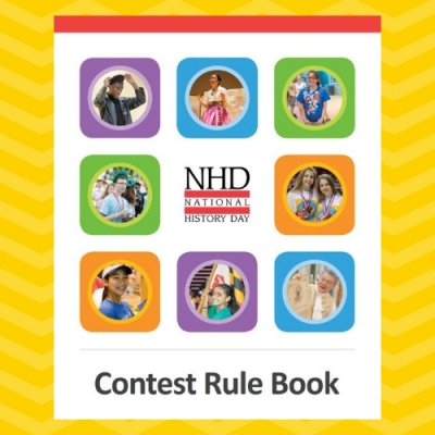 NHD Contest Rule Book cover