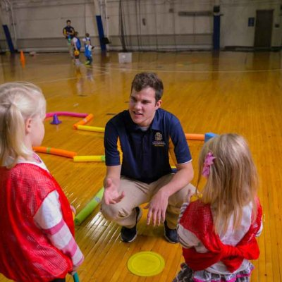 student teaching kindergarten PE