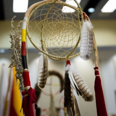 Dream catcher from the 2017 Wacipi.