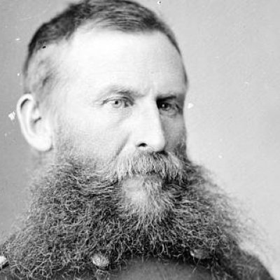 General George Crook with beard