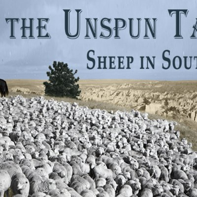 The Unspun Tale logo for the exhibit