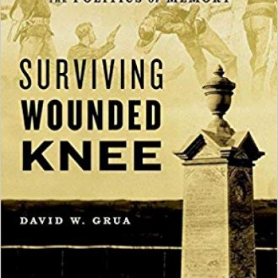 Book cover - Surviving Wounded Knee