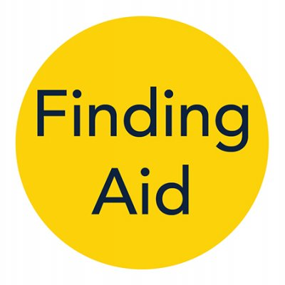 Yellow Finding Aid logo