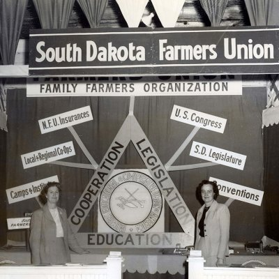 Link to advertising audio from the South Dakota Farmers Union