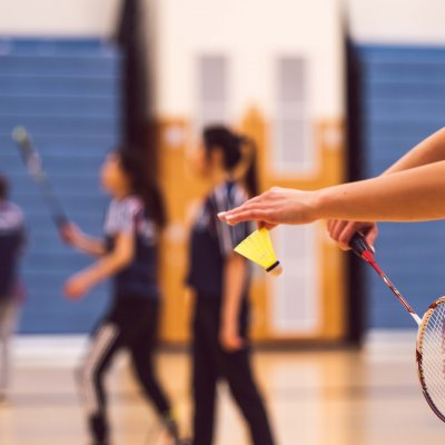 Play Badminton at SDState