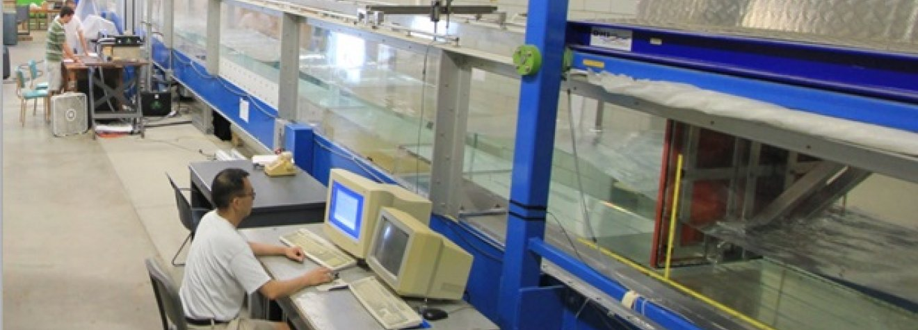 Image of Flume in Research lab