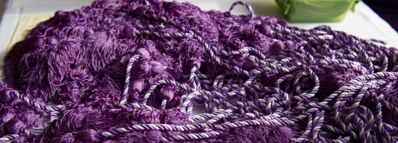 Purple honors cords