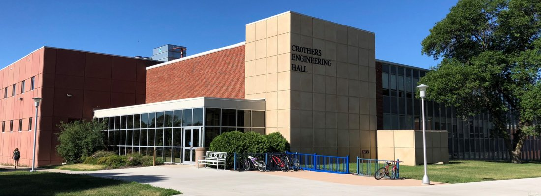 Crothers Engineering Hall Northeast Entrance