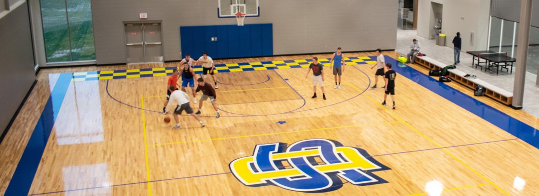 Wellness Center Intramural Basketball