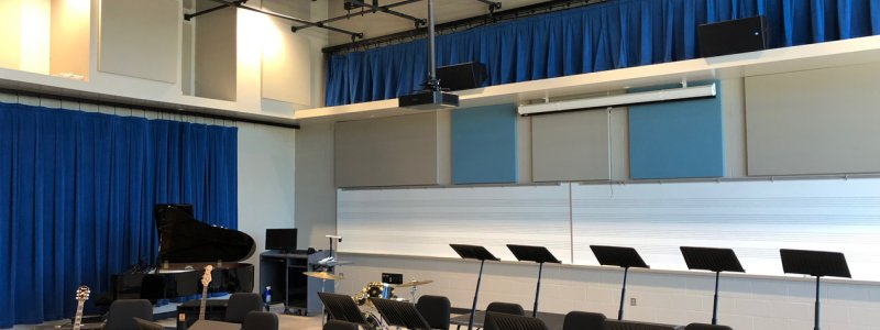 Multi-use Rehearsal Facilities