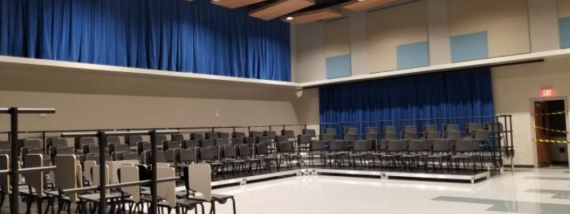 Large Ensemble Rehearsal Facilities