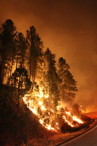 Legion Fire in the Black Hills