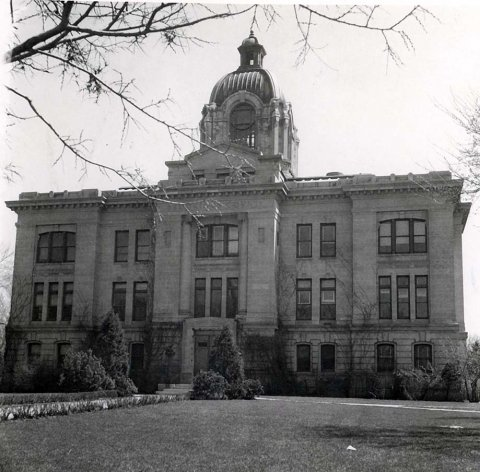 Brookings County Courthouse, Brookings, South Dakota.