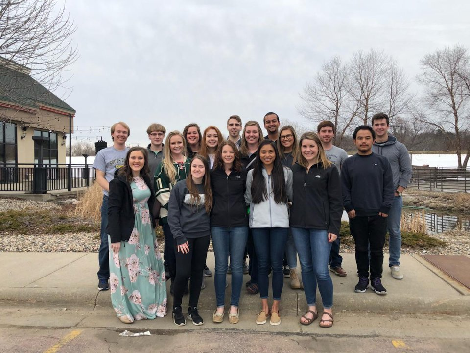 Students at the 2018 retreat.