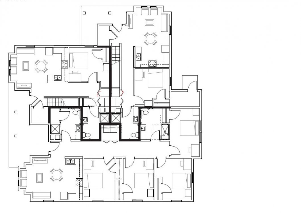Townhouse 1st floor layout