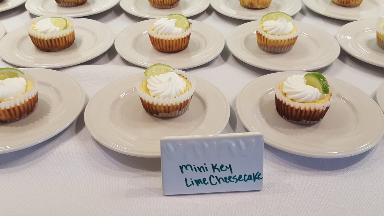 Key Lime cheesecakes