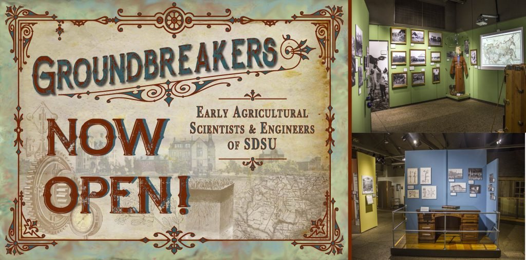 Groundbreakers exhibit