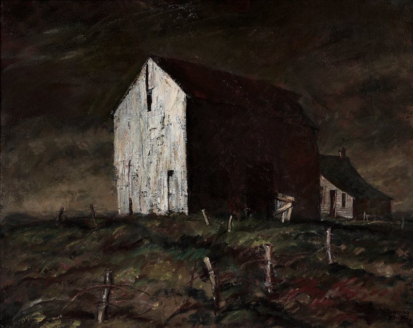Harvey Dunn, The Abandoned Farm, n.d.