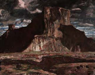 Harvey Dunn, Badlands, n.d.