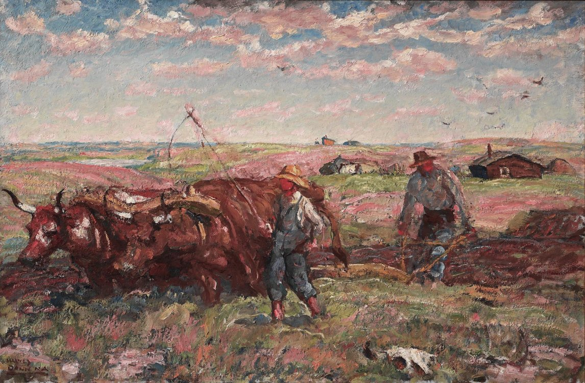 Harvey Dunn, Breaking Sod, n.d.