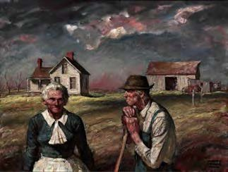 Harvey Dunn, Old Settlers, n.d.