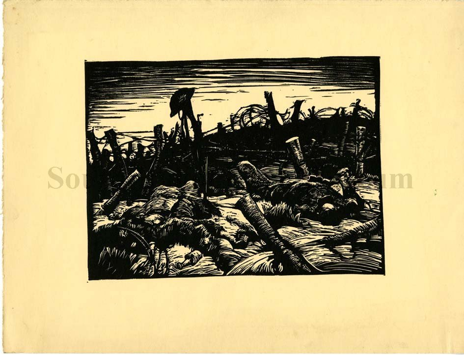 Harvey Dunn, untitled (WWI), n.d.
