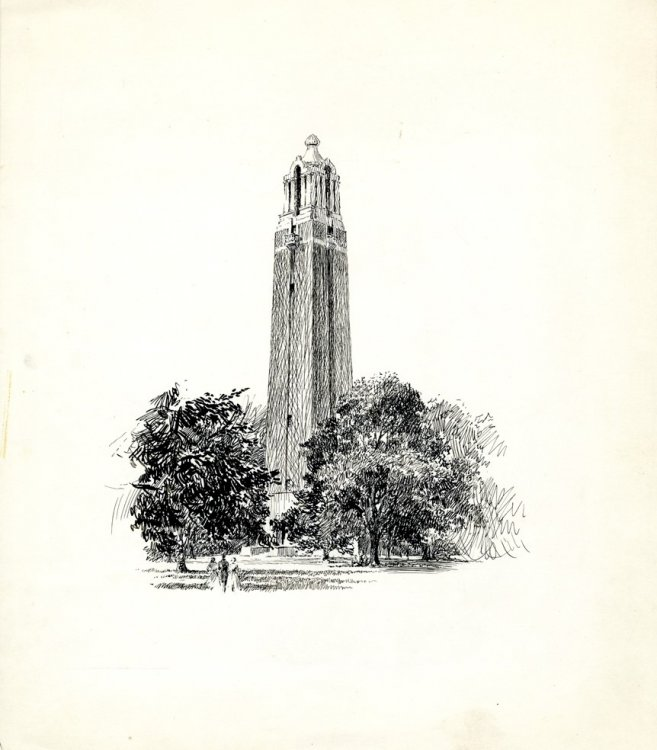 "Hubert Mathieu, ""Coughlin Campanile"""