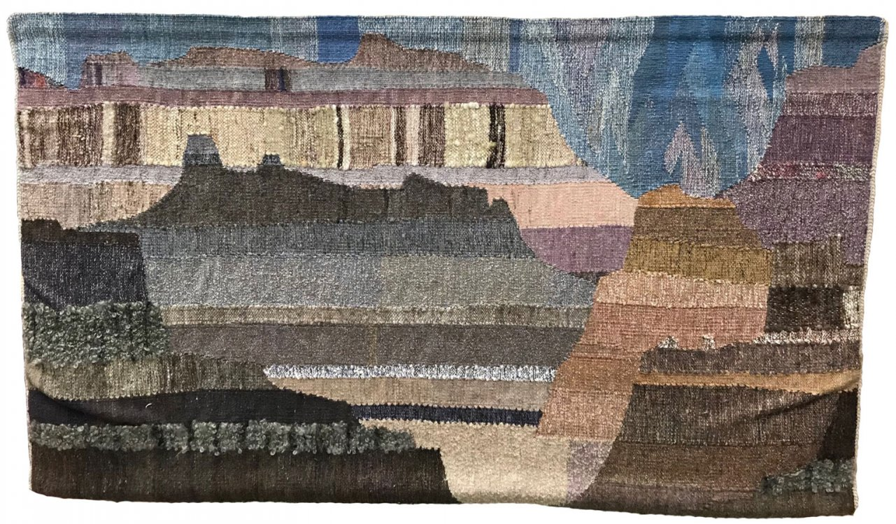 "Grete Bodøgaard, ""Badlands"" weaving"
