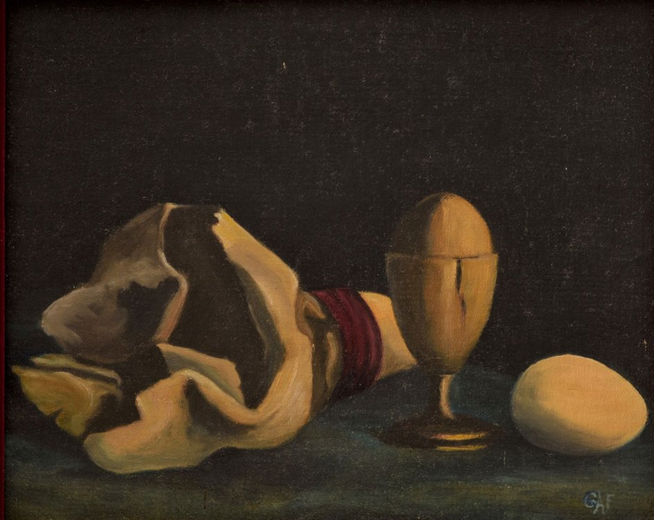 "Grace Ann French, ""Still Life with Eggs"
