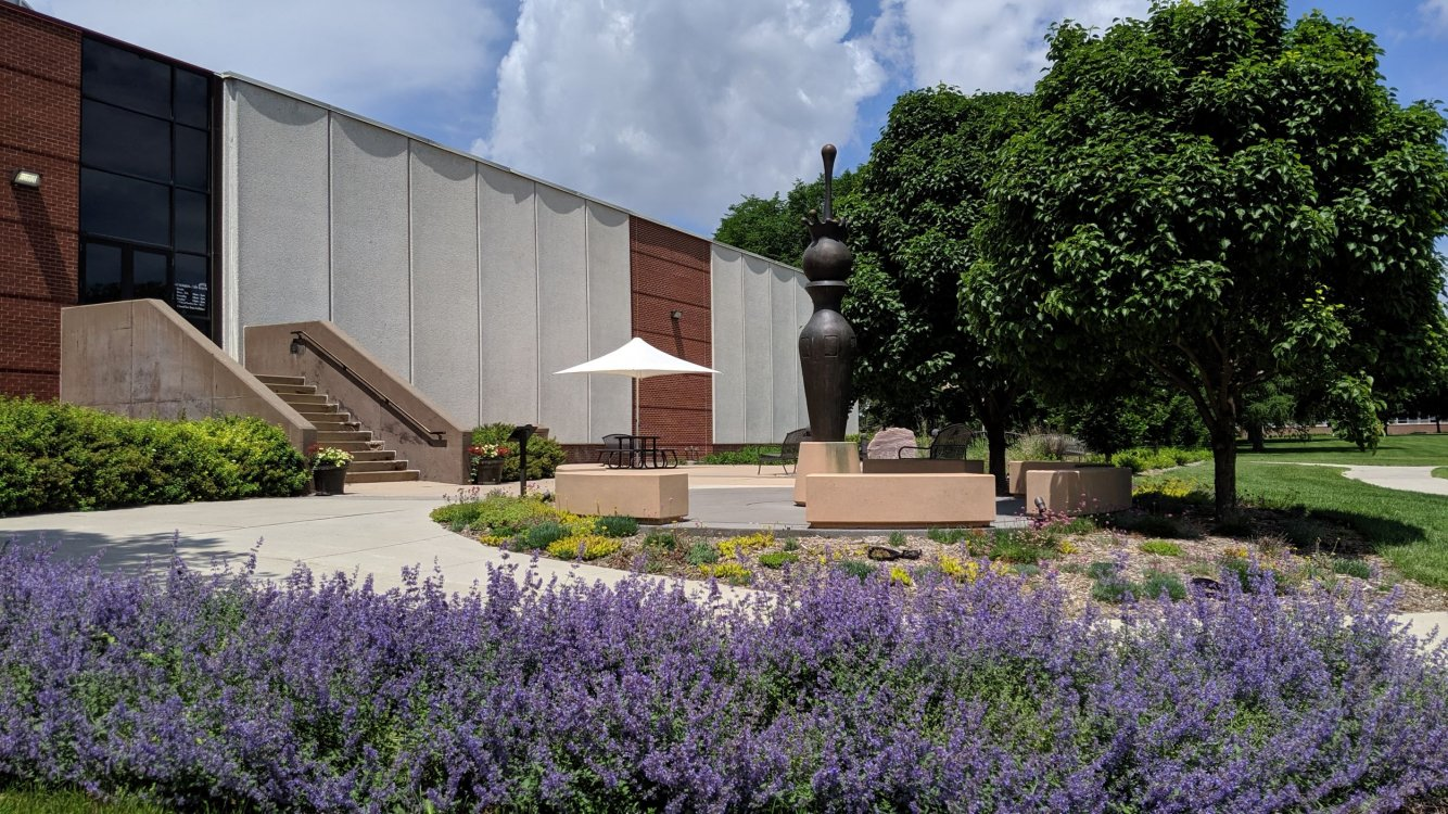Anderson Plaza at the South Dakota Art Museum