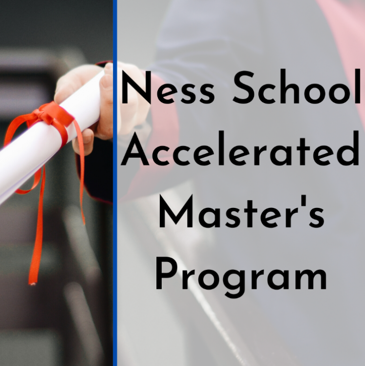 Accelerated Masters Program