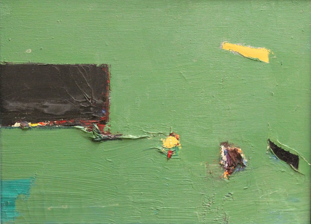 Clifford Gleason. Untitled, c. 1960. Oil on canvas. ©In Copyright. Rights-holder unidentifiable