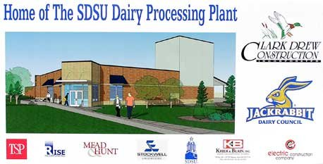 Home of The SDSU Dairy Processing Plant poster