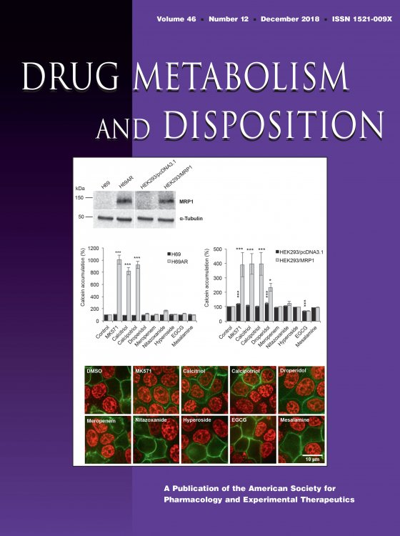 Cover of Drug Metabolism and Disposition